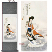 Home Decor Silk Ink F Silk Decorative Painting Scroll Paintings Calligraphy And Painting