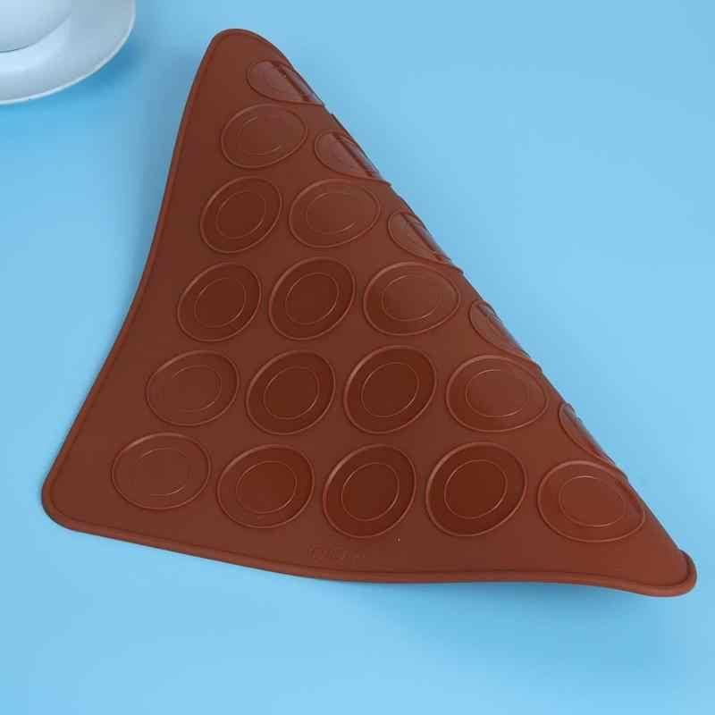 Siliconen Macaron Mould Ontwerp Gebak Gereedschappen DIY Taart Muffin Oven Bakken Roll Mat Pad Schimmel Thuis Leveranciers Keuken Accessoires Tool