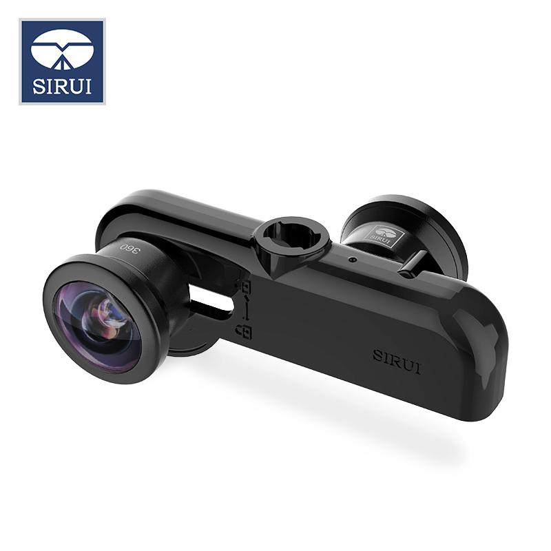 SiRui mobile phone panoramic lens 360 degree wide angle fisheye  for iphone camera self-timer