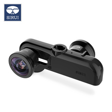 SiRui mobile phone panoramic lens 360 degree wide angle fisheye  for iphone camera camera self-timer mobile phone lens moveski 720 vr camera hd video panoramic view wide angle dual fisheye lens camera h 264 for android smartphone