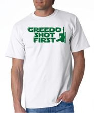 Greedo Shot First T-shirt Star Wars Movie 5 Color S-3XL Free shipping  Harajuku Tops Classic Unique T Shirt