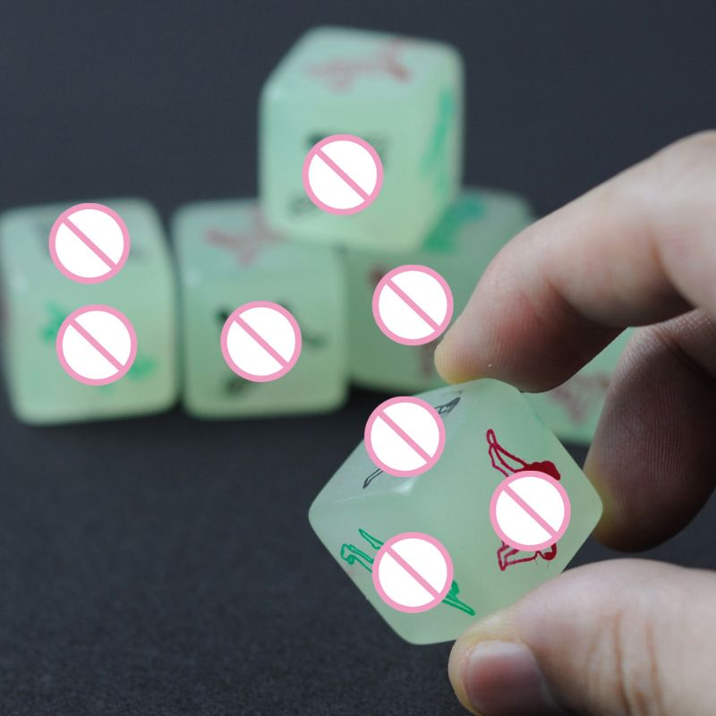 Kama Sutra Glow In The Dark Love Sex Dice Erotic Saucy Fun Adult Game Hen Stag