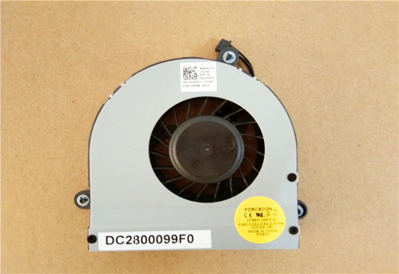 Original New Emay Laptop Fan For Dell For Alienware 17 M17x R3 R4 Cpu Cooling Fans Gvhx3 0gvhx3 Cn-0gvhx3 100% Test Ok Buy One Get One Free Computer & Office