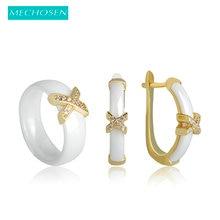 anel cristal zircão anéis