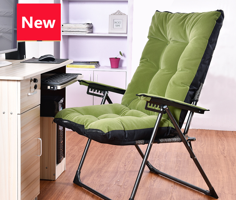 Fashion Super Soft Sun Loungers Student Dormitory Household Folding Chair Computer Office Chair small computer chair the household contracted student chair desk chair is small 009