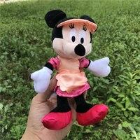 1 шт. 20 см фартук с Микки и Минни Маусами мягкие игрушки подарка для девочек и мальчиков со дня рождения