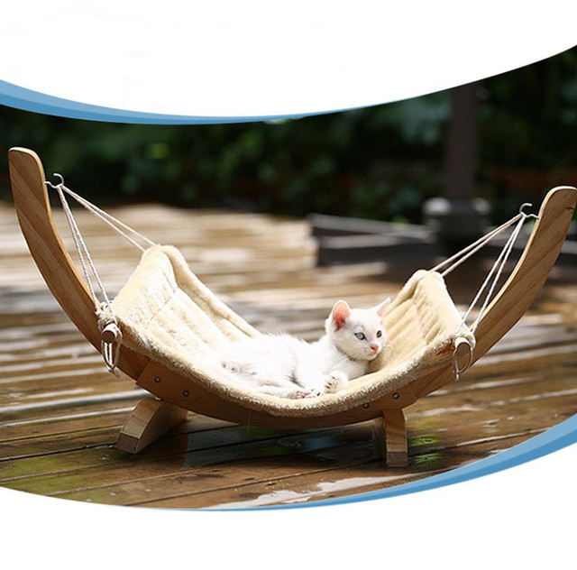 new cat chair tree hammock bed window cat cage hammock washable cat wooden bed mat dogs new cat chair tree hammock bed window cat cage hammock washable      rh   aliexpress