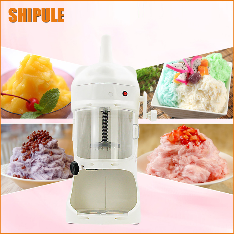 SHIPULE hot new products for 2017 ice shaver machine Ice Shaver Crusher snow cone shaved crusher machine for sale