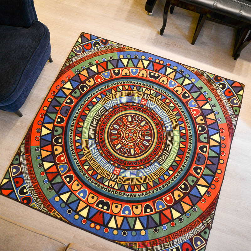 Indiana Colorful Childrenu0027s Room Carpet National Livingroom Bedroom  Hallwaymat Rug Compass Green Crawling Pad Mat Study
