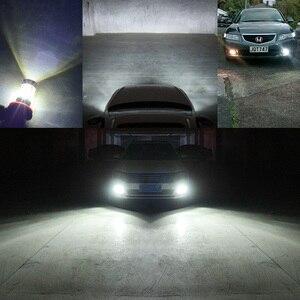 Image 2 - NAO H11 led 9005 HB3 9006 HB4 fog lights H8 H10 12V 16SMD CREE Chip DRL 1600lm Car LED H9 80W Auto Bulb 6000K White Lamp