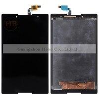1 cái Miễn Phí Trung Quốc Post HH Cho Lenovo Tab 2 A8-50lc A8-50F LCD Hiển Thị Cảm Ứng Digitizer Cảm Biến Separatly Tablet Pc 8.0 '' + Công C
