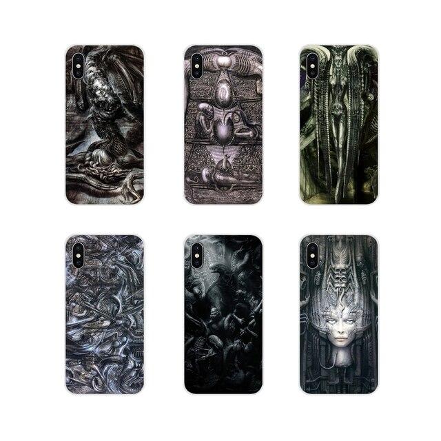 Alien arte Ridley Scott Hr Giger, funda carcasa TPU para Xiaomi Redmi Note 6A MI8 Pro S2 A2 Lite Se mezcla 1 Max 2 3 para Oneplus 3 6T