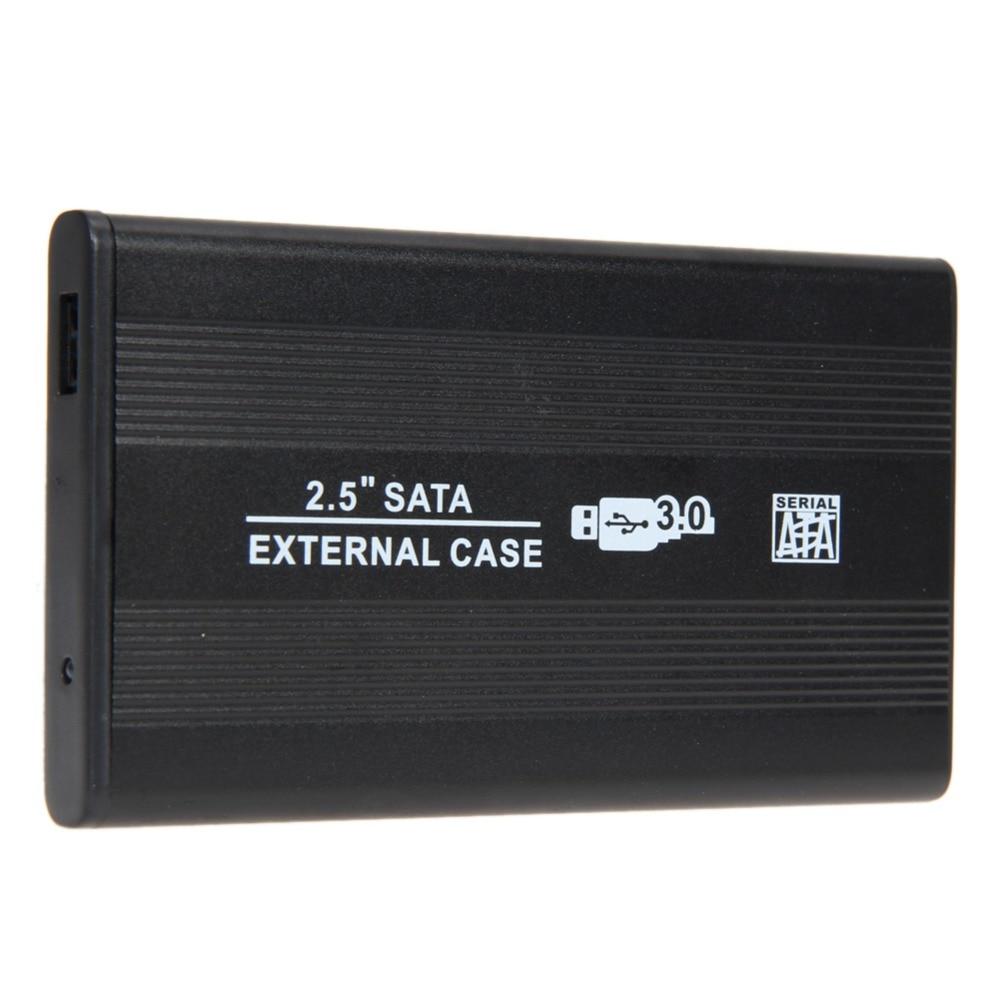 2,5 collu cietā diska korpuss Sata ar USB 3.0 super ātruma cietā diska disku ārējais uzglabāšanas korpuss HDD kaste ar USB kabeļu skrūvgriezi