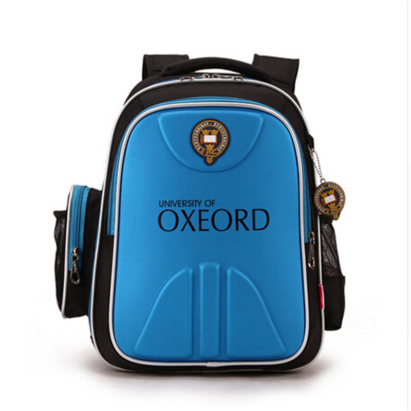 ФОТО Child school bag primary school students 1 - 3 - 6 male female child spinal care slimming double-shoulder back