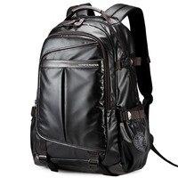 Swiss leather men business School Backpack For Boys big Waterproof 15.6 Laptop Backpack gear Men Backpack Bag Women sac a dos