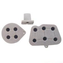 10 set/lotto di Ricambio In Plastica Conduttiva Bottoni per Sega saturn controller