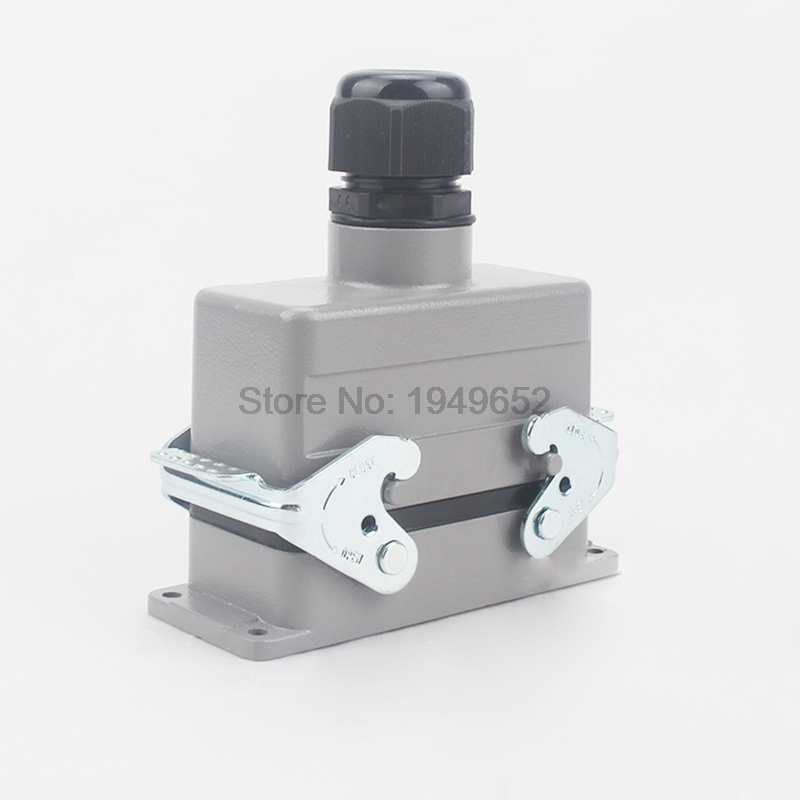 Heavy Duty Connectors HDC-HE-016-2 F/M 16pin 16A 500V Industrial Rectangular Aviation Connector Plug