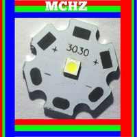 50pcs 3030 2W PCS Cree XPE XP-E/XTE XT-E/XPG XP-G 3535LED PCB bordo di Alluminio 20mm Per DIY LED