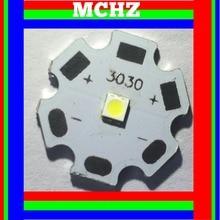 50pcs 3030 2W PCS Cree XPE XP-E /XTE XT-E/XPG XP-G 3535LED PCB Aluminum board 20mm For DIY LED