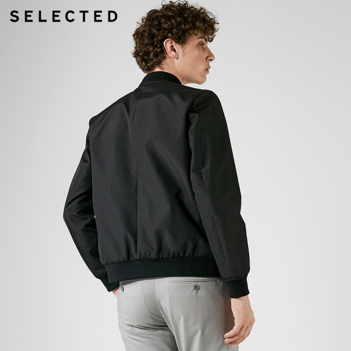 AUSGEWÄHLT männer Reine Farbe Baseball Kragen Reißverschluss Jacke S  4183OM506-in Jacken aus Herrenbekleidung bei  Gruppe 3