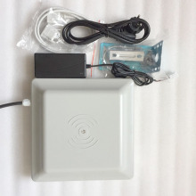 UHF RFID card reader 6m long range,  free shiiping 8dbi Antenna RS232/RS485/Wiegand Read 6M Integrative UHF RFID Reader