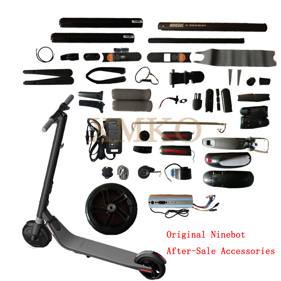 Ninebot Segway ES1 ES2 Electric Scooter Parts Handle Bar Electric Throttle Fork Cover Head Light For Ninebot Scooter|Scooter Parts & Accessories|   - AliExpress