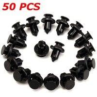 50pcs-10mm-hole-car-bumper-fender-plastic-push-rivets-fastener-clips-for-honda-black-car-styling