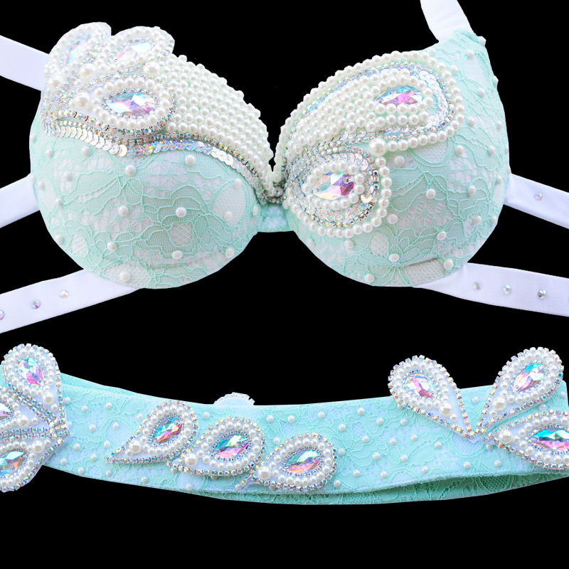 New Women's belly dance set costume belly dancing clothes Sexy Night dance bellydance Carnival Tops Chain BRA Belt 83260 new women s belly dance set costume belly dancing clothes sexy night dance bellydance carnival tops chain bra belt 18128