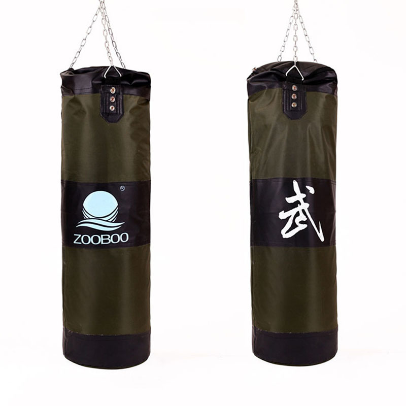 90cm Training Fitness Mma Boxing Bag Hook Hanging Kick Fight Punch Punching Sandbag Saco De Boxer Empty In Sand From Sports