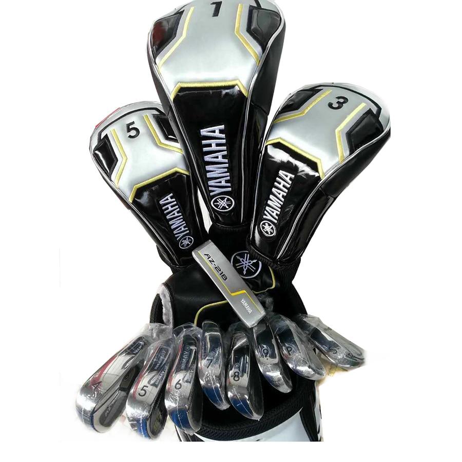 Men Golf clubs Yamaha A2-218 set Golf Complete Set 10 5 loft Club Graphite Golf shaft No ball packs Free shipping цена