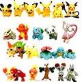 24 unids Pocket Monsters Pikachu Pokeball Pokebola Minifigures Figuras de Acción Muñecas Figuritas Coleccionables Juguetes para Niños para niños Niñas