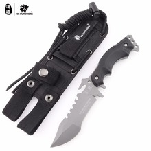 HX Outdoors TRIDENT High Quality 440C Stainless Steel Camping Hunting Army Survival Knife Outdoor Tools 58HRC Tactical Knives цена 2017