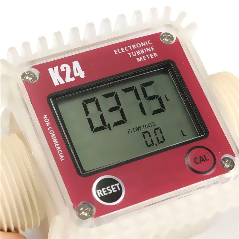 Pro K24 digitális üzemanyag-áramlásmérő vegyszerek vízszintes - Mérőműszerek - Fénykép 5