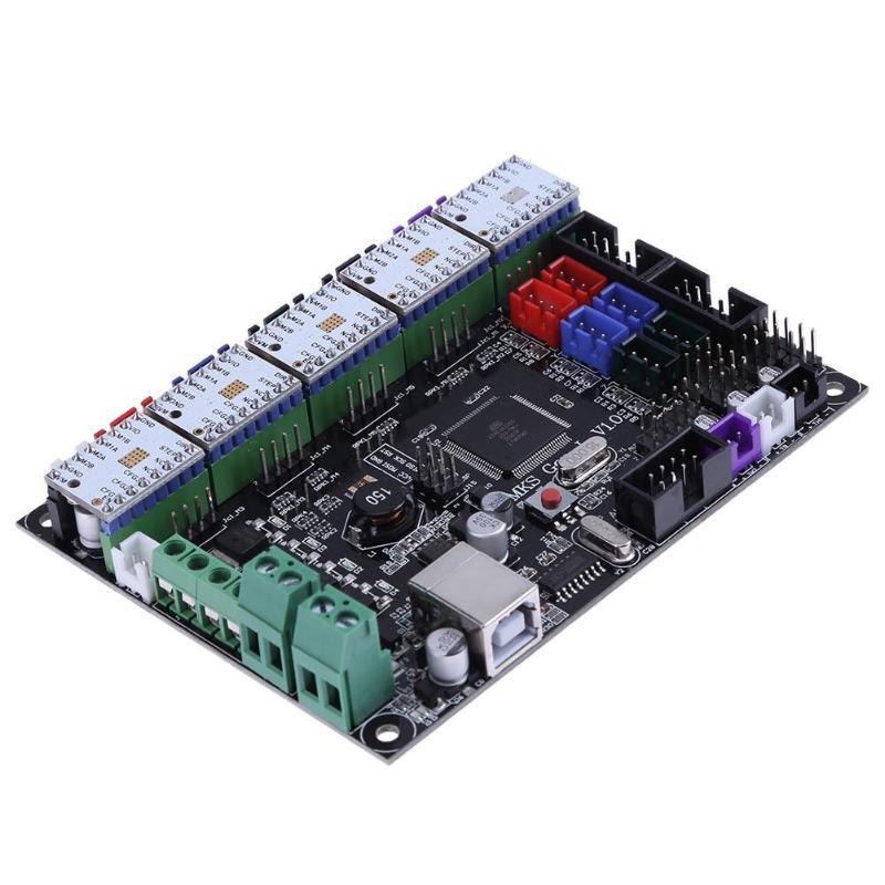 3D Printer Controller Board MKS Gen L V1.0 board +5pcs TMC2100V1.3 Stepper Motor Driver for Ramps1.4|3D Printer Parts & Accessories| |  - title=