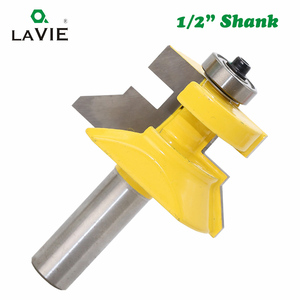 Image 3 - LAVIE 2pcs 12mm 1/2 Shank 120 Degree Router Bit Milling Cutter Frame Groove Tenon Woodworking Engraving Wood Milling Set 03004