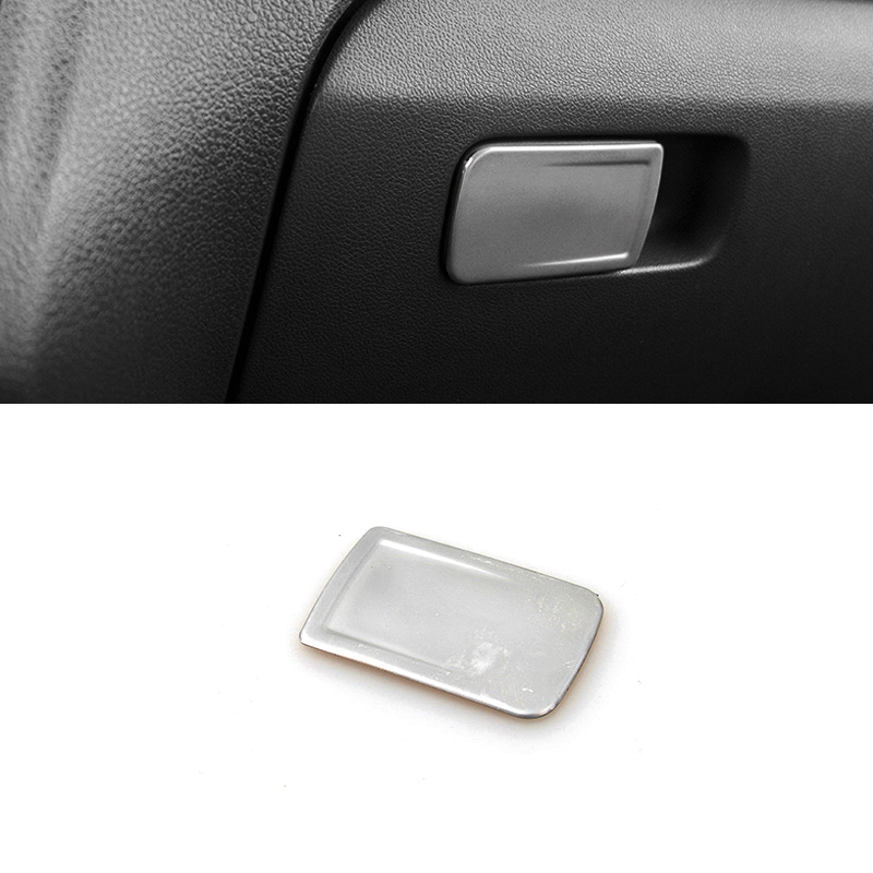 Polo5 Polo Hatchback 5 Door 5th Generation Polo: QCBXYYXH Car Styling Stainless Steel Car Door Glove Box