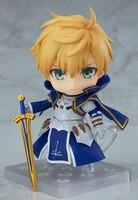 10cm Japanese anime figure Fate/Grand Order Arthur Pendragon Nendoroid action figure collectible model toys for boys