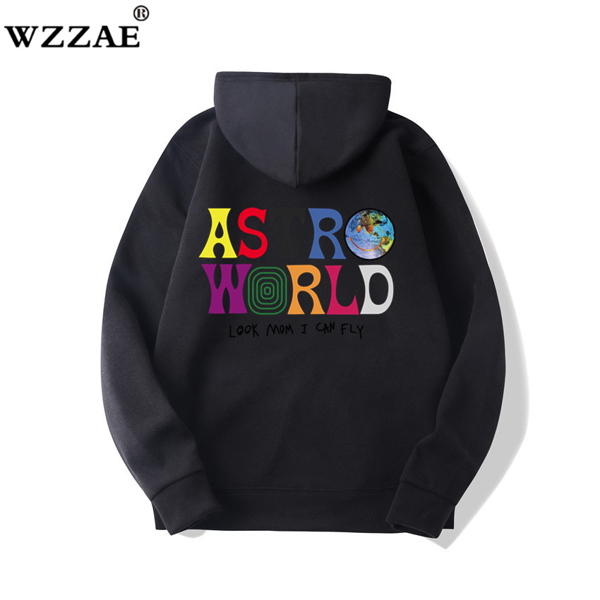 Fashion Letter ASTROWORLD HOODIE street wear Man woman Pullover Sweatshirt 36