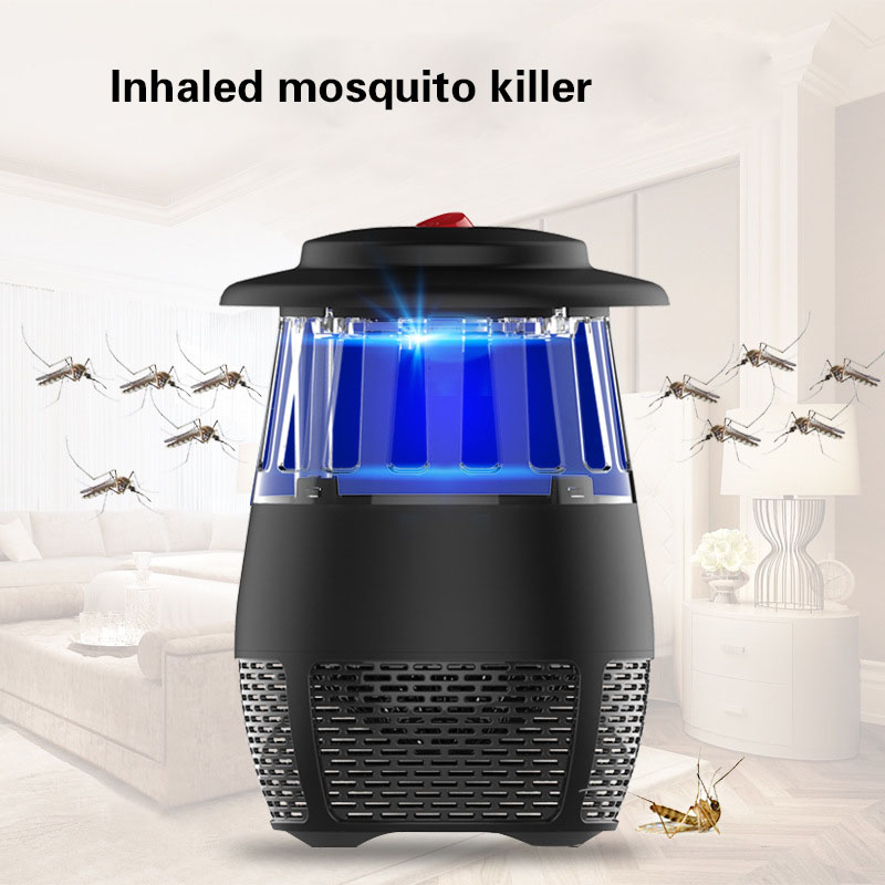 Household USB Rechargeable Insect Killer Mute Safety Photocatalyst Mosquito Killer Lamp AntiMosquito Repellent Light household photocatalyst led mute usb mosquito killer