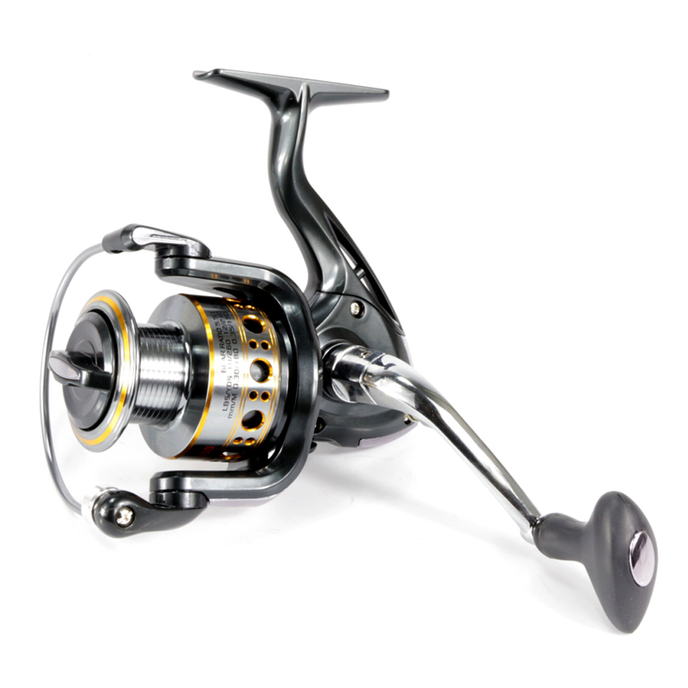 High Quality Spinning Fishing Reel 12+1BB GA1000-7000 Series spinning reel casting fishing reel fishing tackle quanhai gt4000a professional spinning fishing reel golden