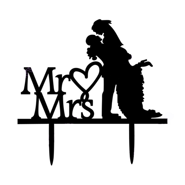 Mr And Mrs Cake Decorations