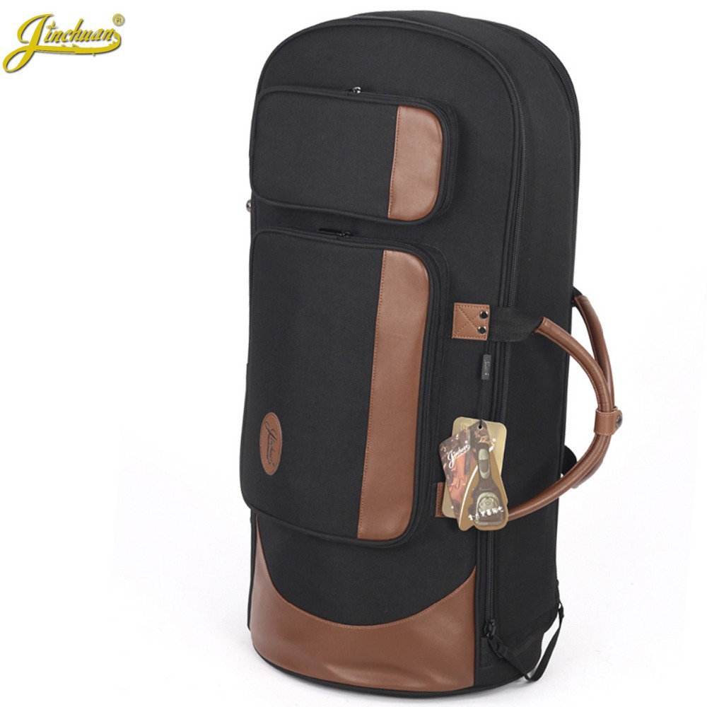 Professional Portable Luxury standing key bond tenor horn bag euphonium case four flat key horn soft gig backpack cover shoulder 90cm professional portable bamboo chinese dizi flute bag gig soft case design concert cover backpack adjustable shoulder strap