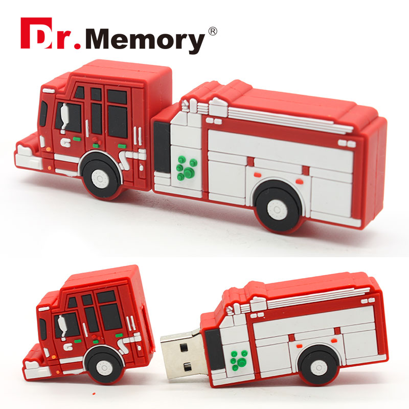Image 5 - Pen Drive USB Flash Drives 8GB Fireman Extinguisher Fire Engine Pendrives 32GB Personalized 4GB 16GB Memory Stick USB Disk Gifts-in USB Flash Drives from Computer & Office