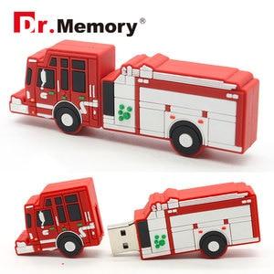 Image 5 - Pen drive USB dyski typu flash 8GB strażak gaśnica ogień silnika Pendrives 32GB spersonalizowane 4GB 16GB pendrive dysk USB prezenty