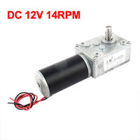 UXCELL Hot Sale 1 Pcs DC 12V 14RPM High Torque Electric Power Speed Reduce Gear Box Motor