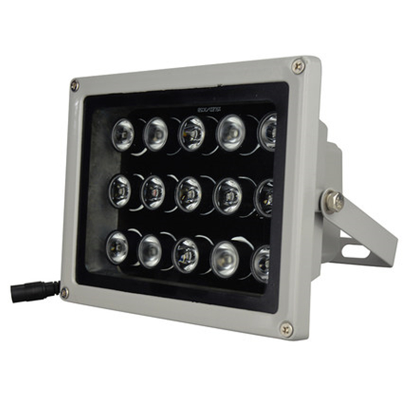 CCTV LEDS 15Pcs IR Infrared Illuminator Lamp Night vision 850nm IP65 Metal Outdoor Waterproof CCTV Fill Light For Camera