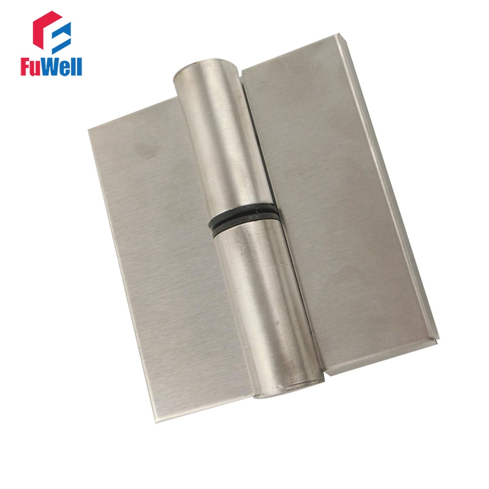 2pcs Stainless Steel Door Hinges Automatic Close for Restroom Patrition Public Toilet Door Hinge цены