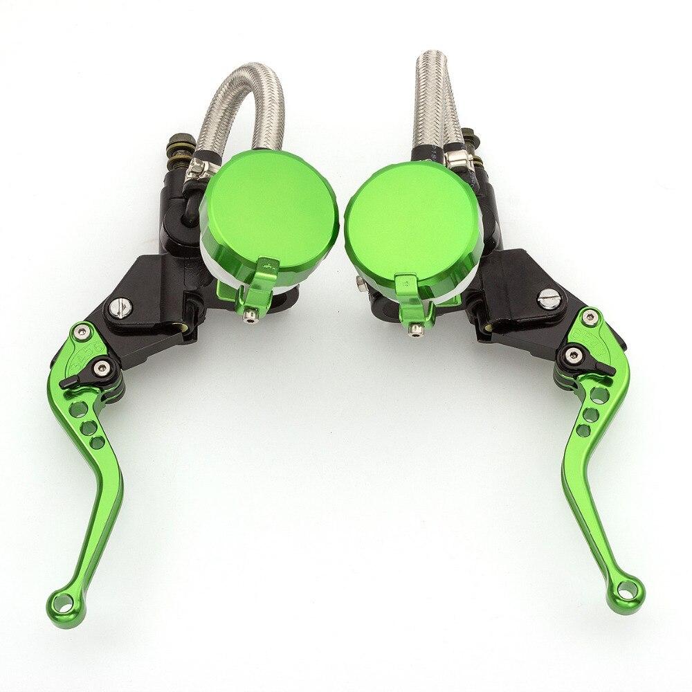 7/8 '' 22 MM universal ajustable motocicleta hidráulica palancas de - Accesorios y repuestos para motocicletas