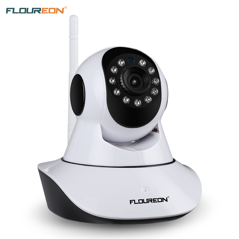 US $27 99 20% OFF|FLOUREON 720P Wifi 1 0 MP Wireless IP camera H 264 Night  Vision Motion Detection Wireless CCTV Security Camera IR CUT-in