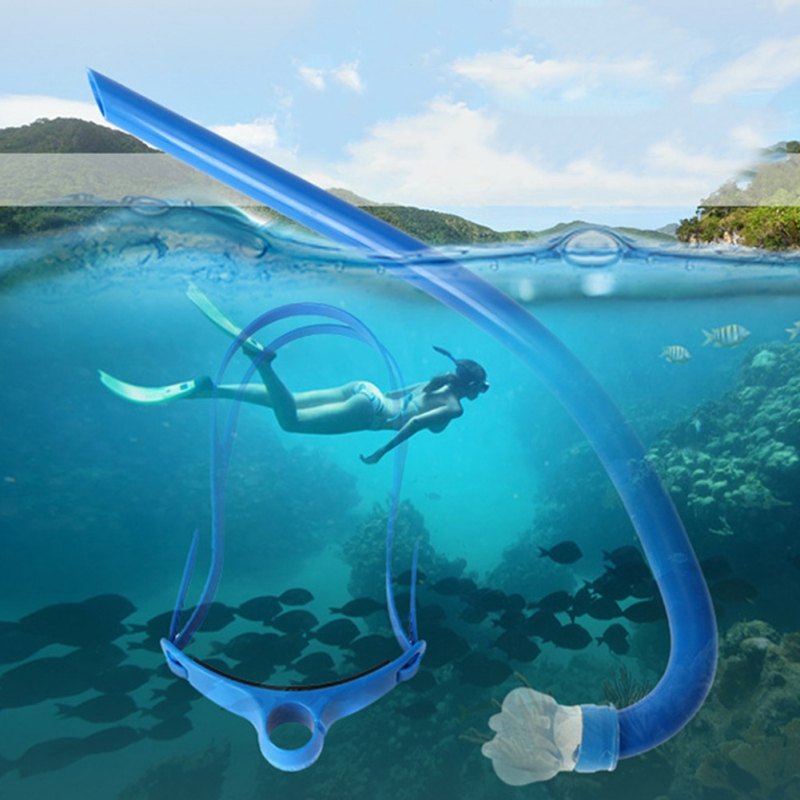 freestyle breathing tube single diving tube Professional swimming training snorkeling equipment before swimming
